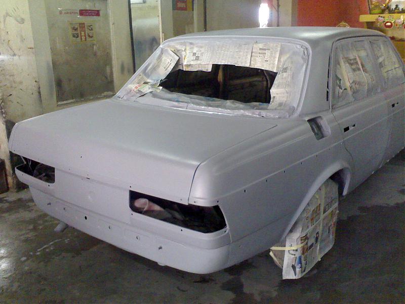 Mercedes benz w123 restored