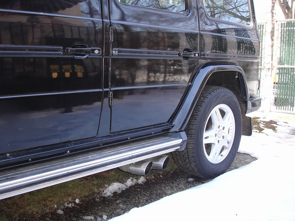 G55 exhaust on a G500 ?-1986-gel-ndewagen-280ge-lwb-dual