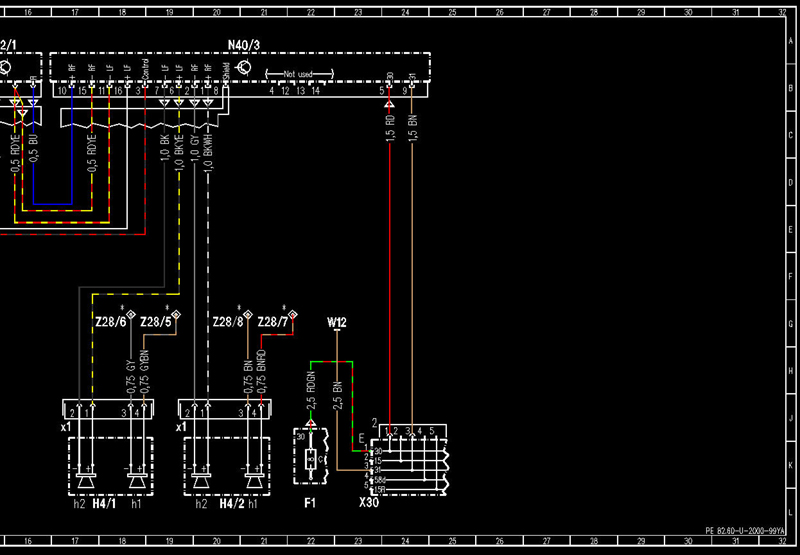 mercedes wis wiring diagram mercedes benz forum rh benzworld org 1974 Mercedes -Benz Wiring Diagrams 87 Mercedes Electrical Diagram