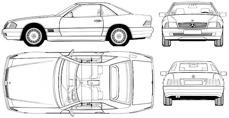 R129 blueprints - Mercedes-Benz Forum