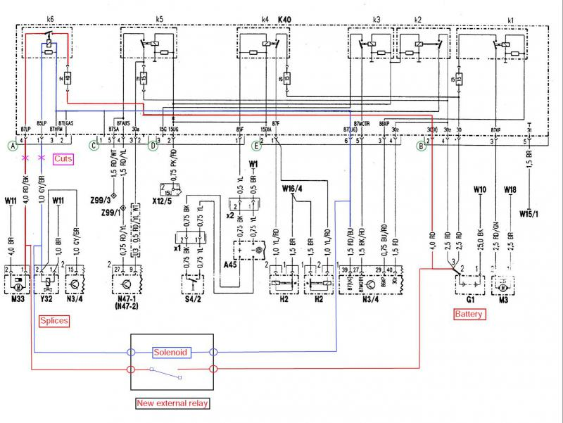 K40 Relay Wiring Diagram