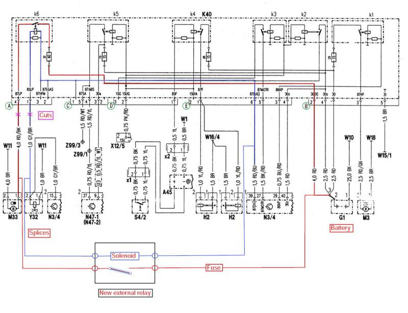 k40 relay e320 wiring diagram example electrical wiring diagram u2022 rh 162 212 157 63