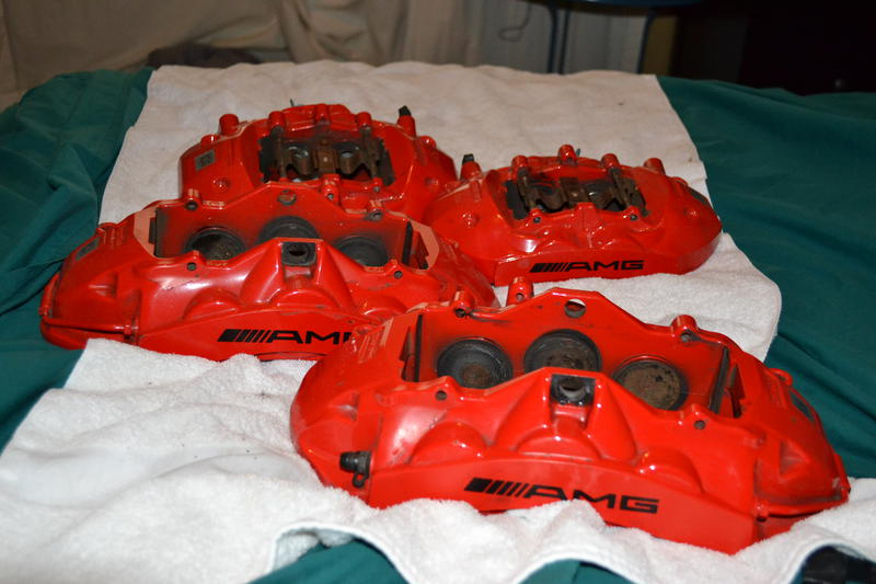 Selling C63 Amg Brake Calipers Mercedes Benz Forum