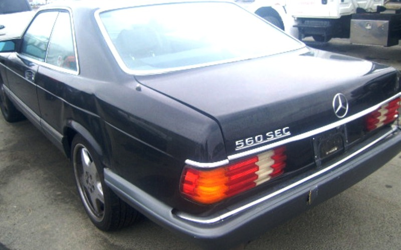 PARTING OUT: 1991 MBZ 560SEC COUPE- Hit Rear/Extra Clean!!!-2-560sec.jpg