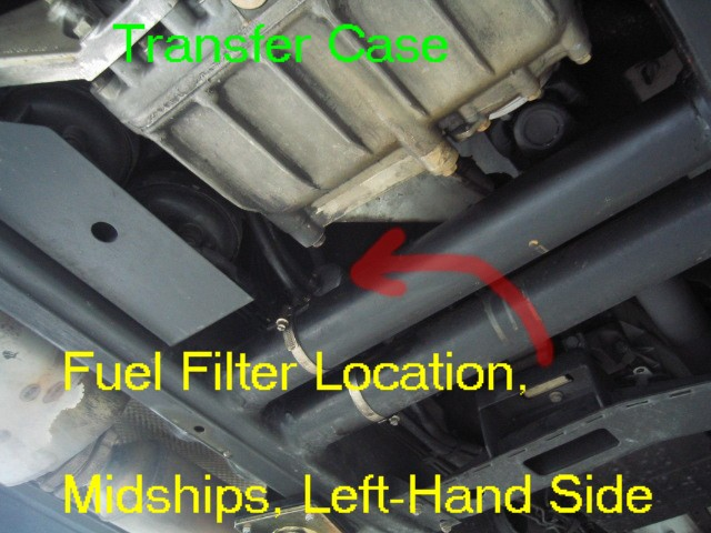photo diy fuel filter replacement w463 mercedes benz forum. Black Bedroom Furniture Sets. Home Design Ideas