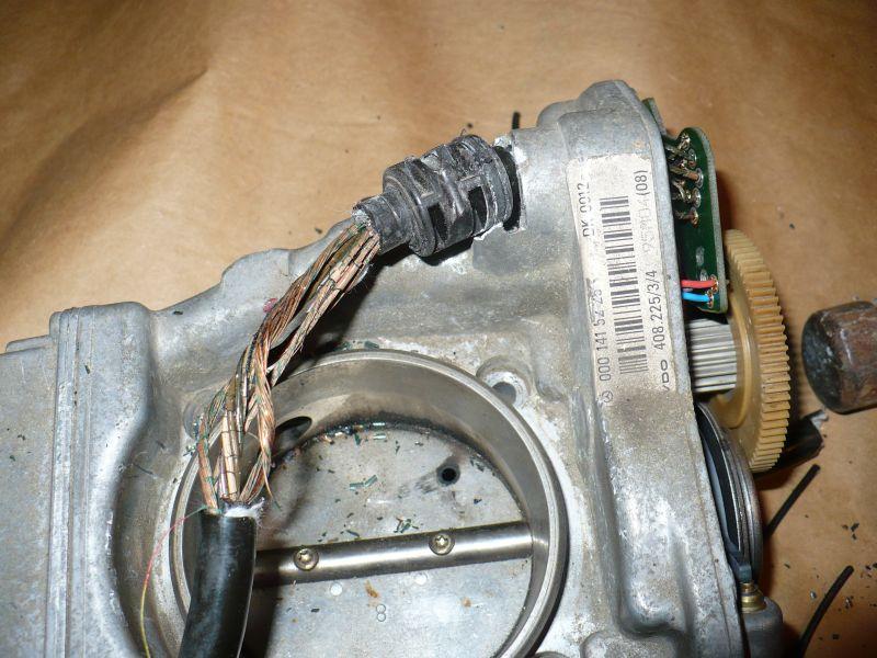 m119 eta throttle body  u0026 maf problems 95 sl500