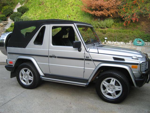 g wagon cabrio 39 s for sale on ebay now mercedes benz forum. Black Bedroom Furniture Sets. Home Design Ideas