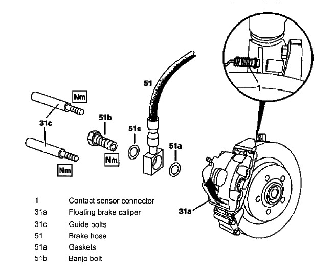 2001 Ml320 Brake Job