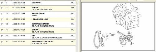 Oil pump (non return/pressure relief) valve failure, 113 engine