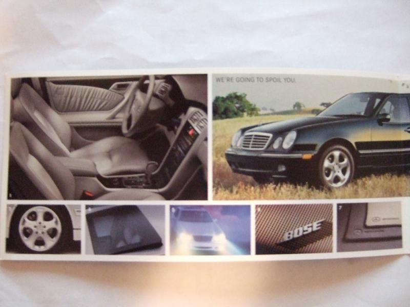 2002 Special Edition Se Brochure Pix Mercedes Benz