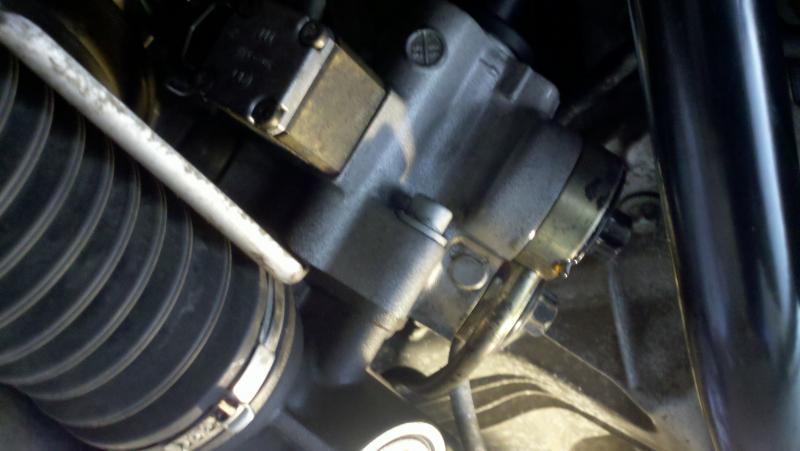 D Leak Steering Rack