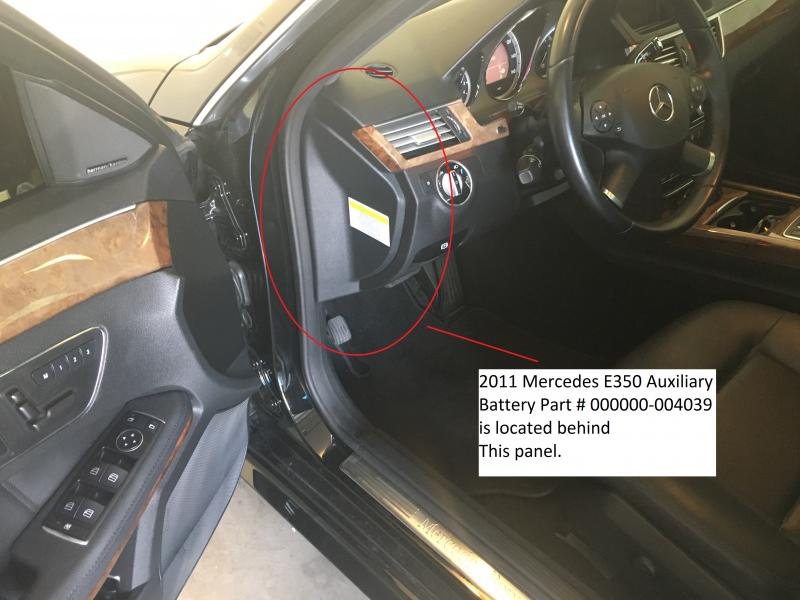 Auxiliary Battery Malfunction Mercedes >> 2015 E350 Auxillary Battery Location Mercedes Benz Forum