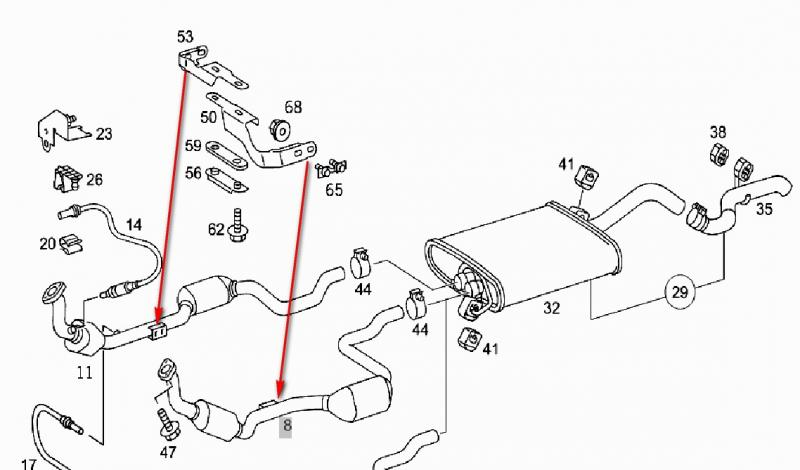 Mercedes Exhaust System Diagram Wiring Diagram