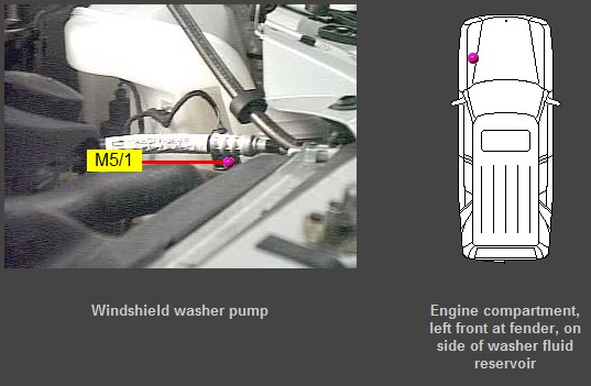D No Flow Windshield Washer Pump