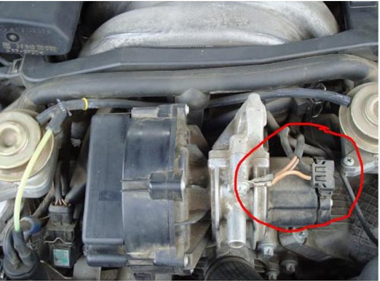 Secondary Air Injection Valve Cleaning Mercedes Benz Forum