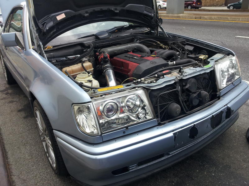 300ce 2jz Swap On The Way Mercedes Benz Forum
