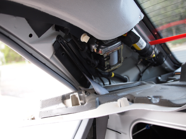 Pictoral Of C Pillar Removal On Late W210 Mercedes Benz