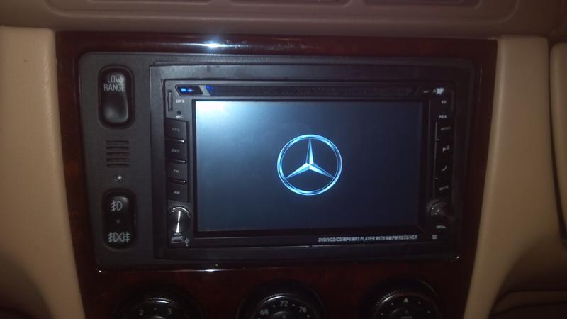Mercedes benz ml320 radio install kit 2