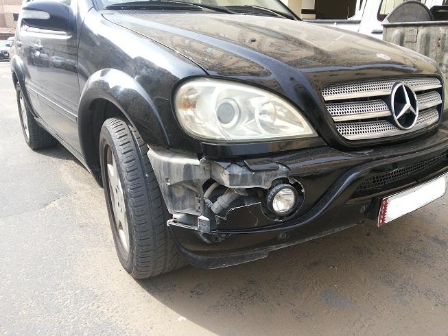 Ml55 amg front bumper fitting mercedes benz forum for Mercedes benz bumper repair