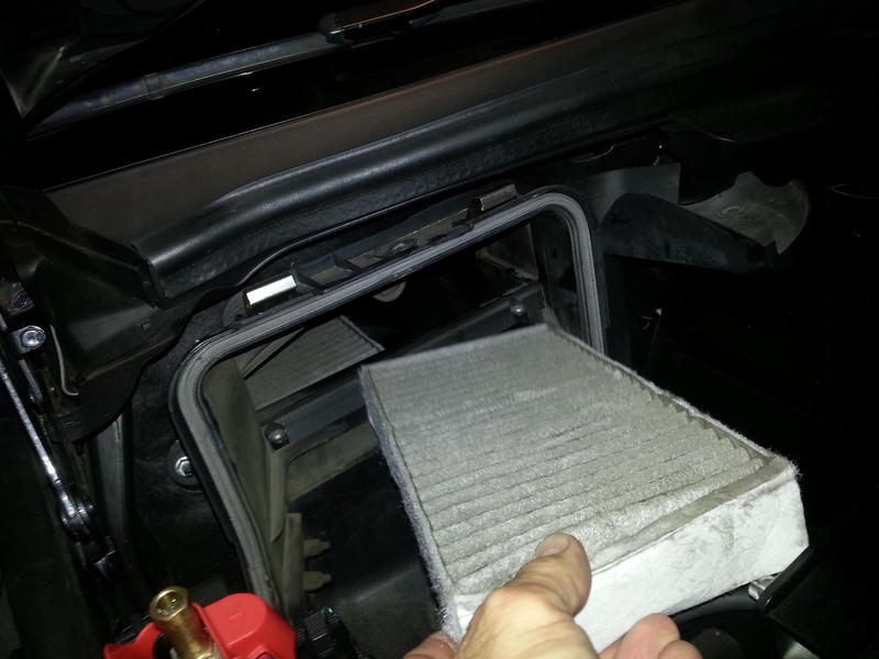 GL450 Cabin Filter Replacement - Mercedes-Benz Forum