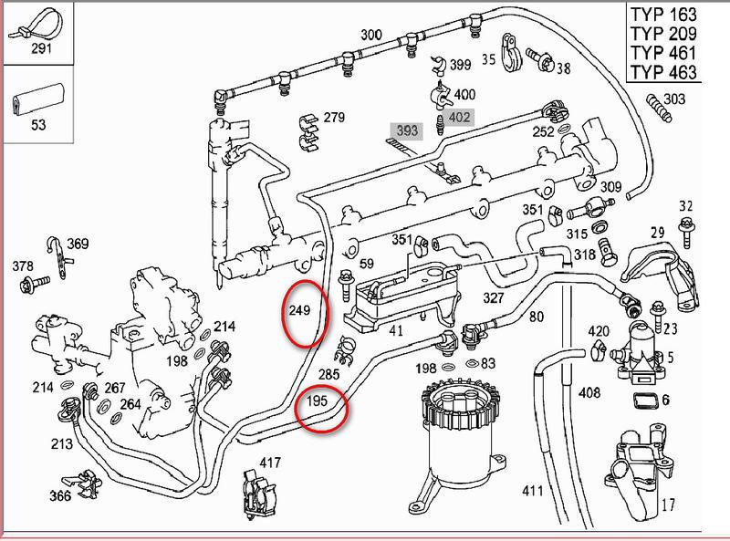 Fuel Line Part Number Needed Mercedes Benz Forum