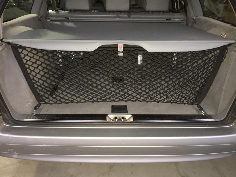 2001 e 320 station wagon cargo net mercedes benz forum for Mercedes benz cargo net