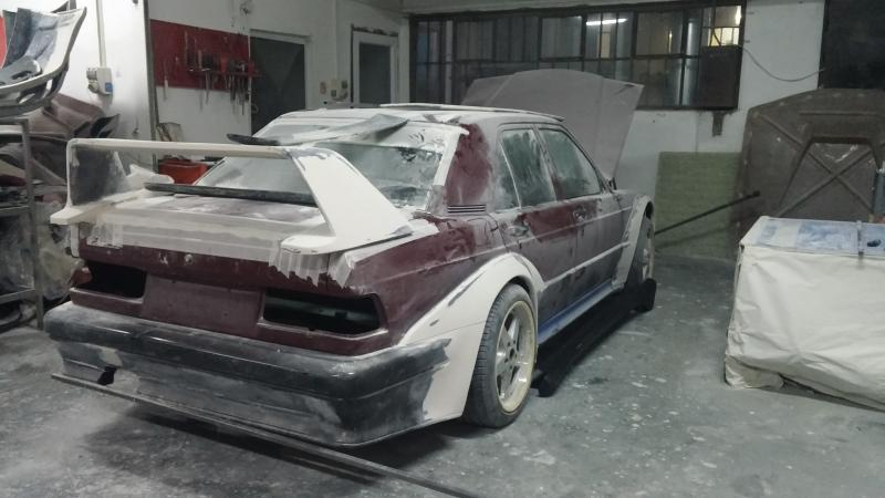 Reborn Mercedes 190E EVO2 DTM with Vette motor - Mercedes-Benz Forum