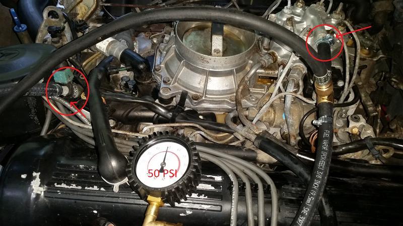 Fuel Pressure Question 88 560sl Mercedes Benz Forum