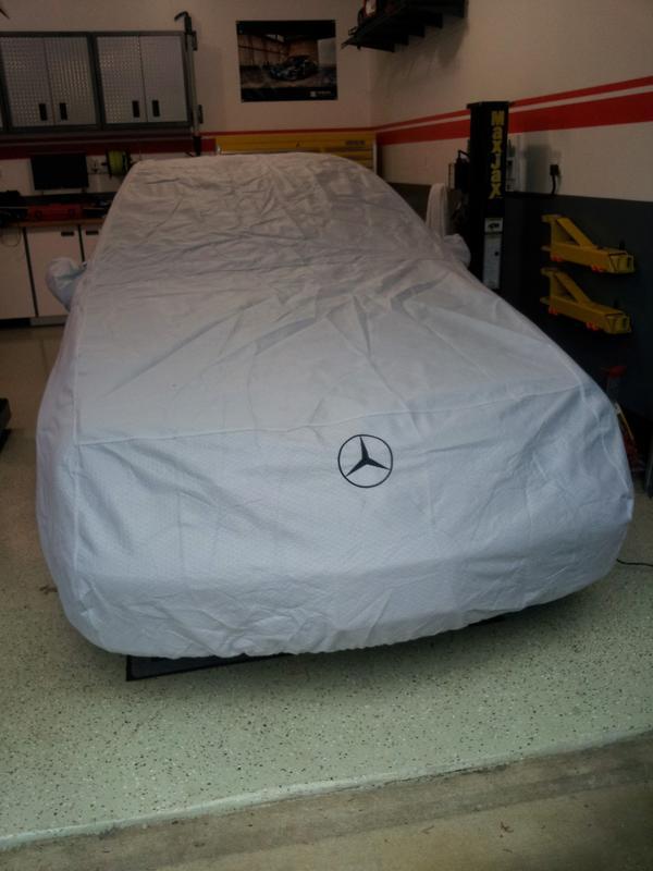 untitled premium ultimate car stretch free benz satin cover mercedes custom dust