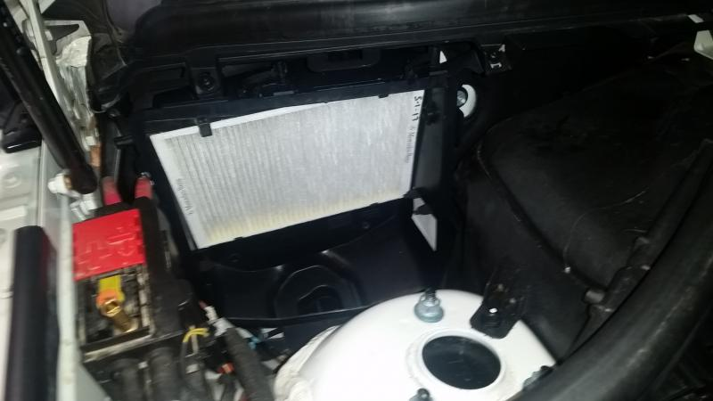 2013 Ml350 Ac Odor Smell Solved Diy Pictures Mercedes