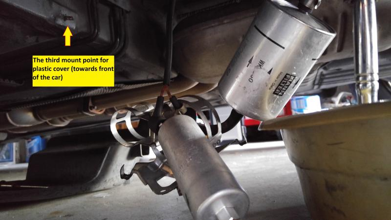 Replace W210 Fuel Pump 97 E420