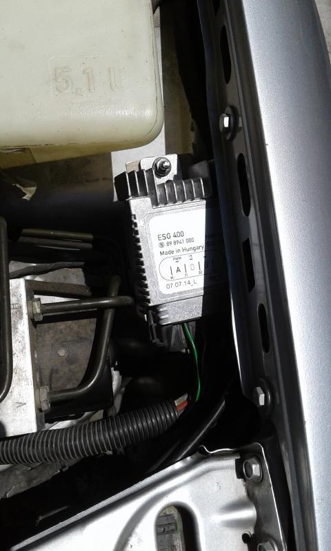 MERCEDES SLK 170 Rad Fan Control Unit 0255453332