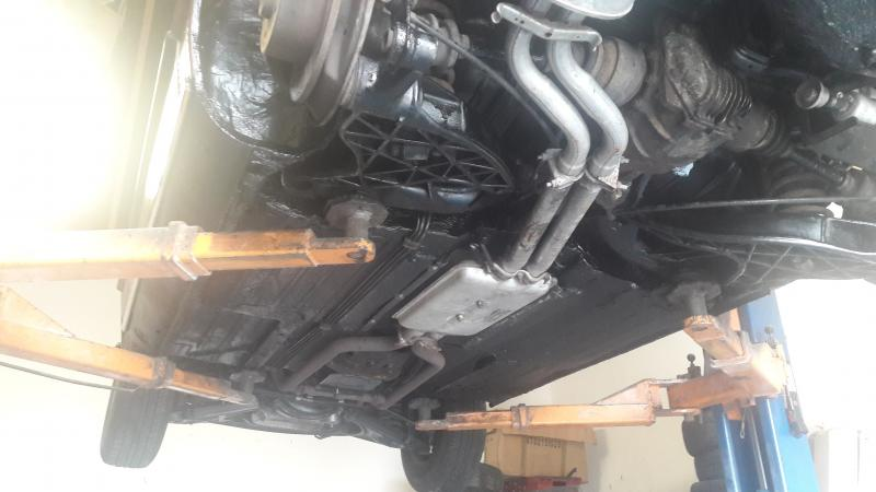 Cracked / blow out exhaust manifold? - Page 3 - Mercedes-Benz Forum