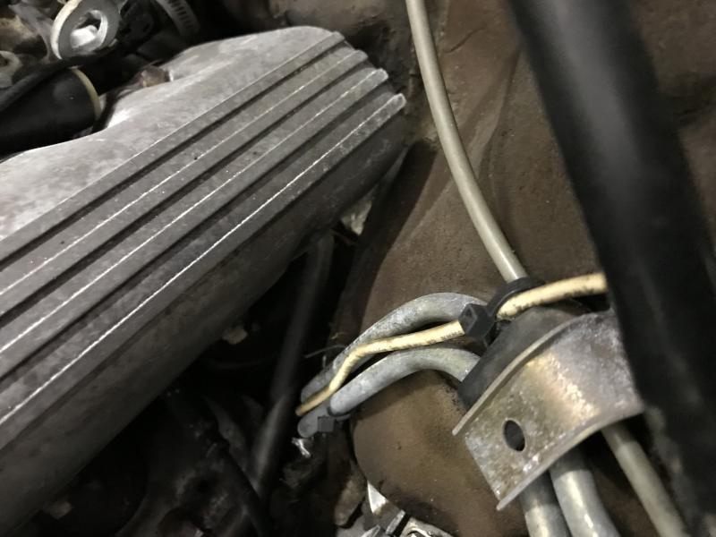 83 Mercedes 500sec Euro Where Does The O2 Sensor