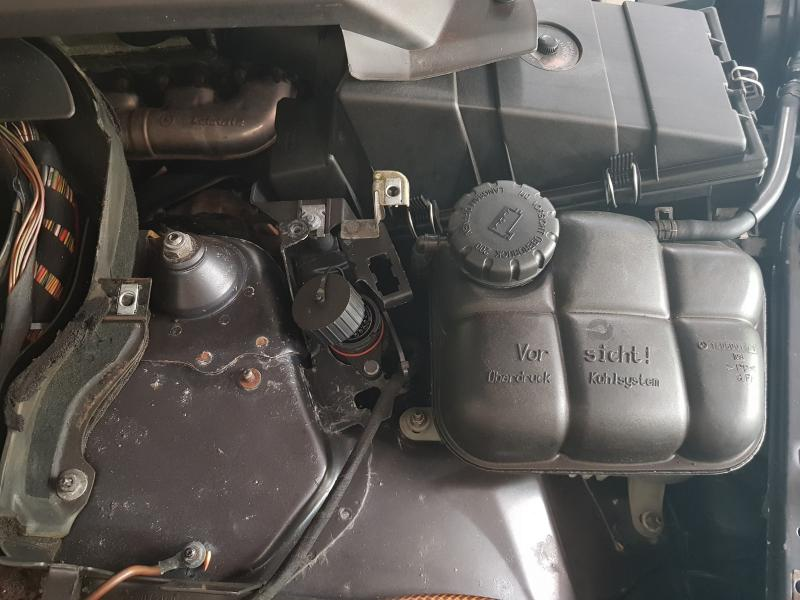 Where is the 1997 S280 OBD 2 port located? - Mercedes-Benz Forum