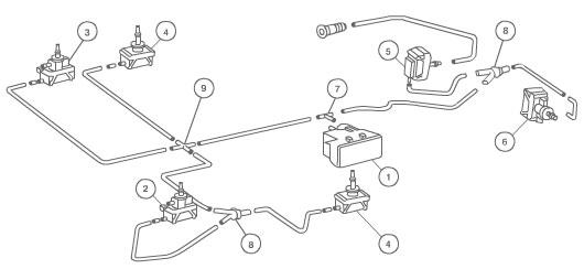 Vacume Pump System Diagram