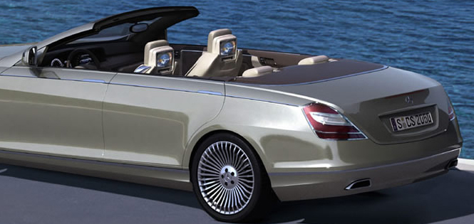 концепт кар мерседес s класса кабриолет