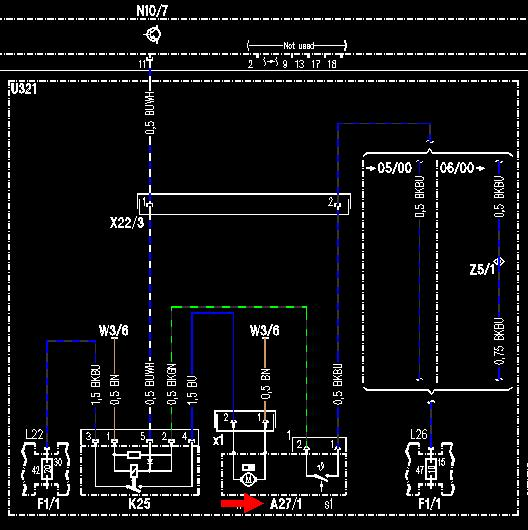 Wiring diagram for s onwards mercedes benz forum