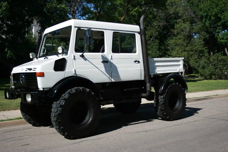 Unimog For Sale >> Very Nice U1000 Doka For Sale Calgary Mercedes Benz Forum