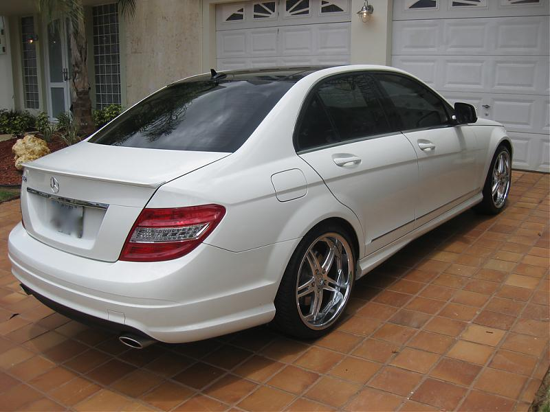 Question How Will 19 Quot Vossen Rims Fit On A C350