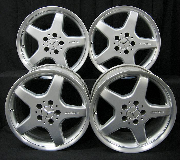 Fs Mercedes Amg Rims 17inch Good Shape Plenty Of