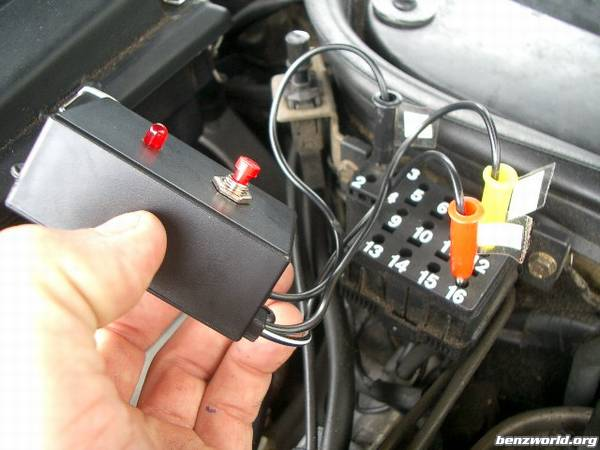 Homemade diagnostic code reader for MY90-95 - Mercedes-Benz Forum