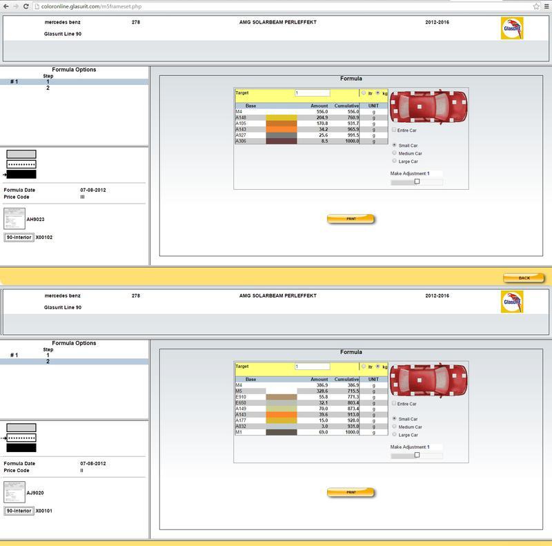 Black series yellow color paint code mercedes benz forum for Mercedes benz paint code location