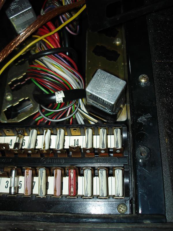 1980 280slc 4sp Fuel Pump Relay Issue Mercedes Benz Forum