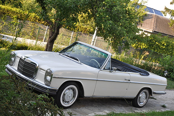 Convertible stroke 8 w114 conversions page 2 mercedes for Classic mercedes benz convertible