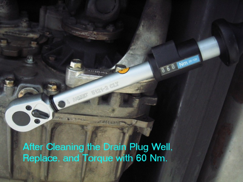 photo diy transfer case oil change mercedesbenz forum