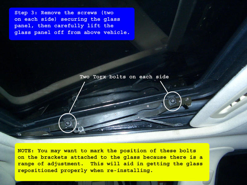W163 Sunroof Shade Fix Mercedes Benz Forum