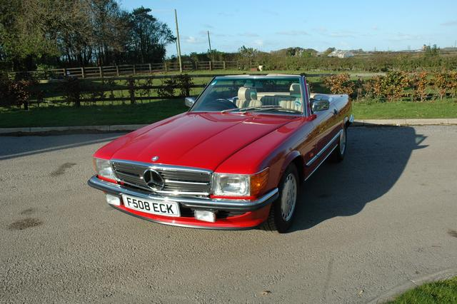 Mercedes 300SL R107 For Sale In UK ONLY 1900 MILES
