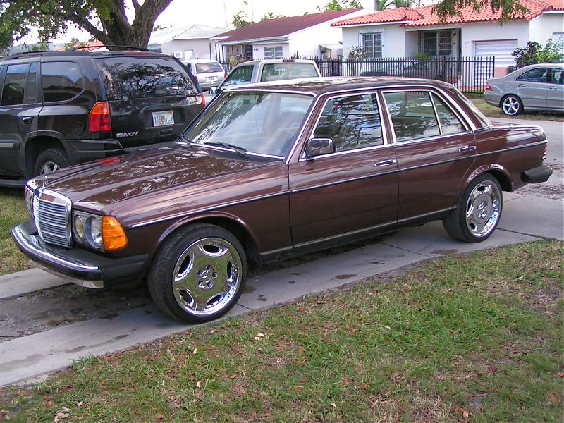 Cool Weels For My W123 240d Mercedes Benz Forum
