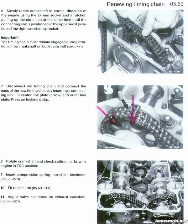 M110 engine timing